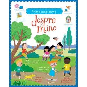 Prima mea carte despre mine (Usborne)
