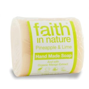 Sapun solid cu ananas si lime, Faith in Nature, 100 g (FN014)