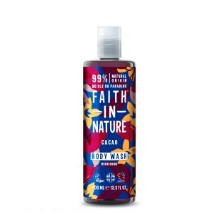 Gel de dus si spuma de baie cu cacao, Faith in Nature, 400 ml (FN002)