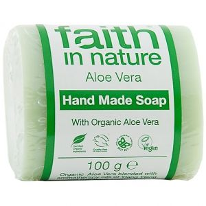 Sapun solid cu aloe vera, Faith in Nature, 100 g (FN081)