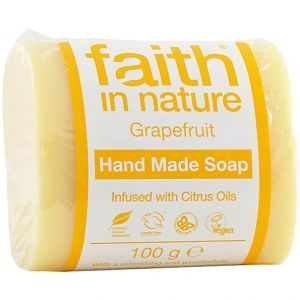 Sapun solid cu grapefruit, Faith in Nature, 100 g (FN084)