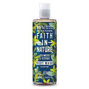 Gel de dus si spuma de baie cu alge marine si citrice, Faith in Nature, 400 ml  (FN087)
