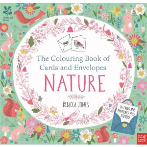 The Colouring Book of Cards and Envelopes – Nature