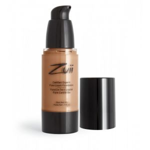 Fond de ten organic cu ingrediente florale, Golden Tan (ZLF-GT)